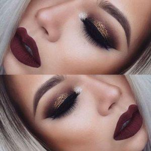 Вечерний макияж основа