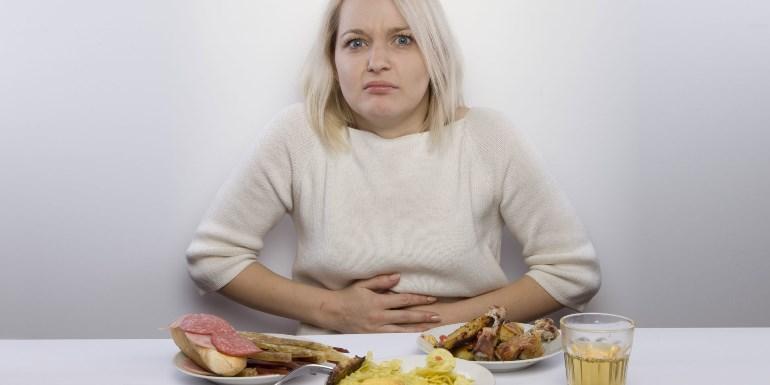 Как устранить тяжесть в желудке
