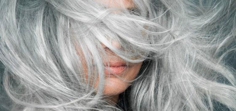 Как ухаживать за седыми волосами