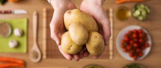 Картофельная диета — виды и эффективность