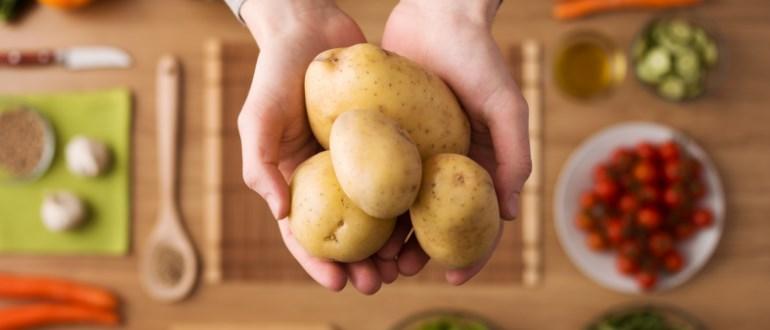 Картофельная диета и фрукты