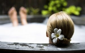 Ванна для шелковистой кожи