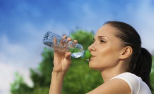 Потребелние воды после 40