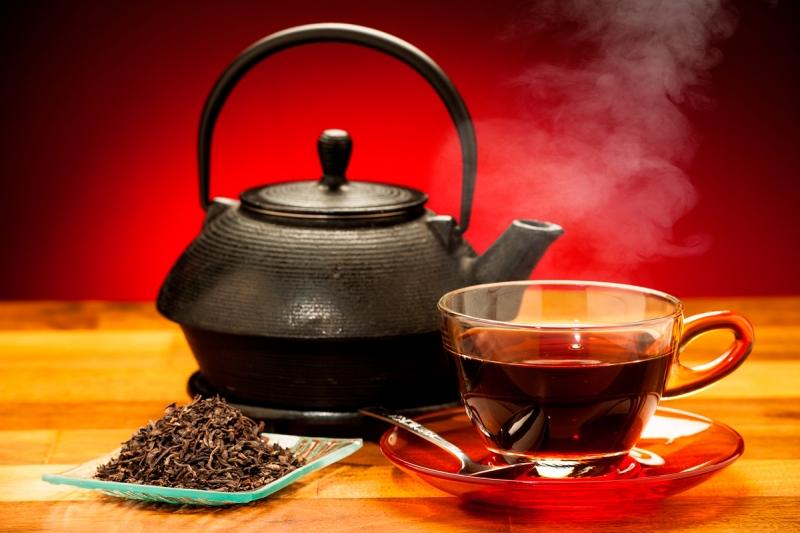 Черный не сладкий чай