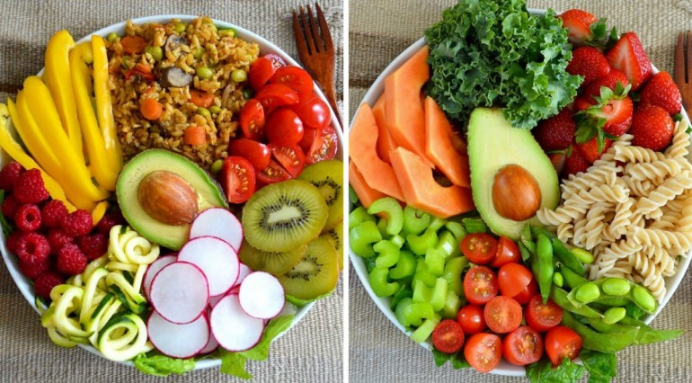 Основы вегетарианского рациона питания