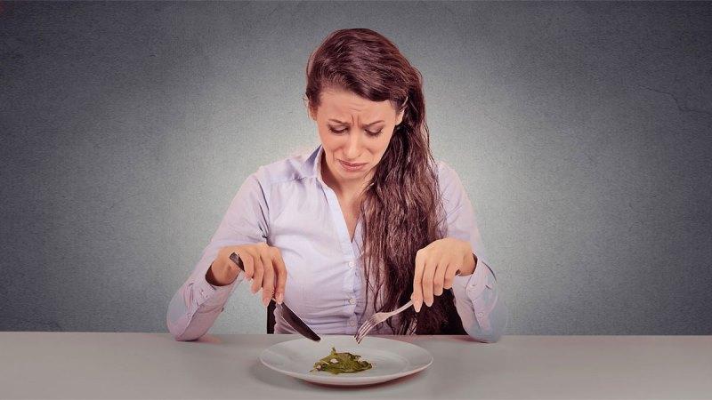 Стресс от диет