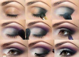 Вечерний макияж-глаза