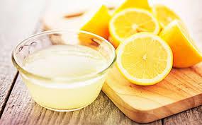 Рецепт маски из лимона