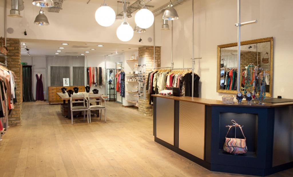 магазина женской одежды