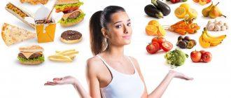 Основные принципы здорового и правильного питания