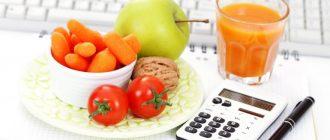 Диета по подсчету калорий, в совокупности со спортом