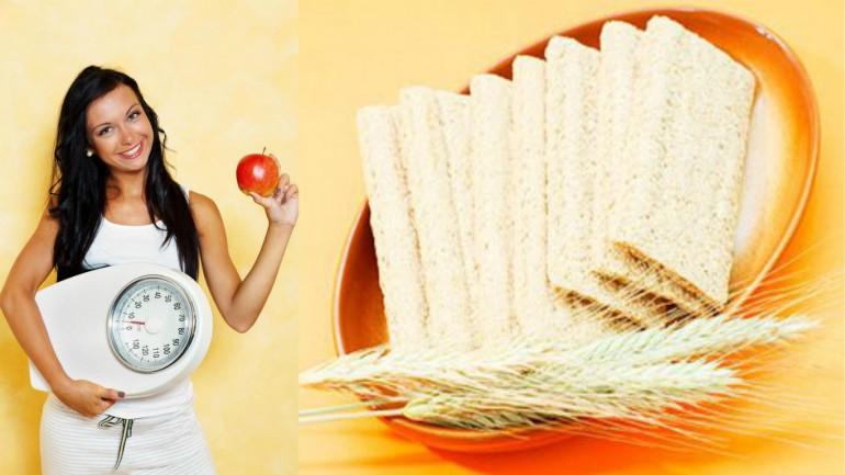 Полезная диета на хлебцах