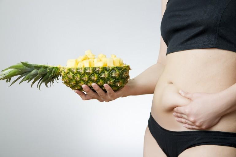 Похудение с ананасом