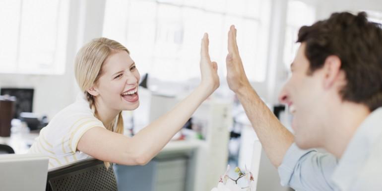 Как худеть на офисной работе: креативные способы