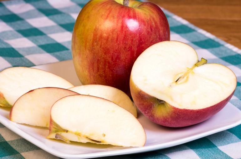 Зеленое яблоко при похудении