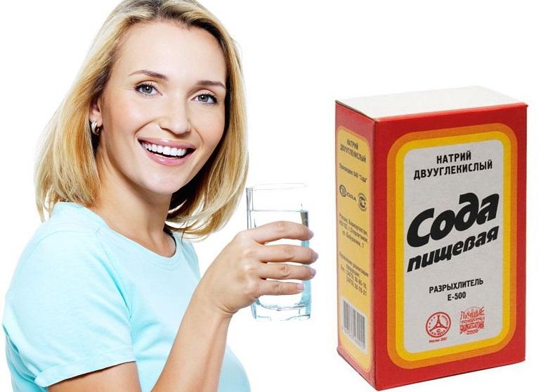Очищение организма содой