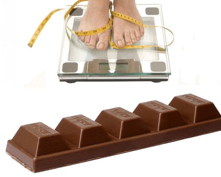 Сброс 7 кг - за 7 дней, на шоколадной диете, плюсы и минусы