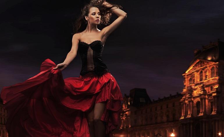 Испанский стиль в женской одежде