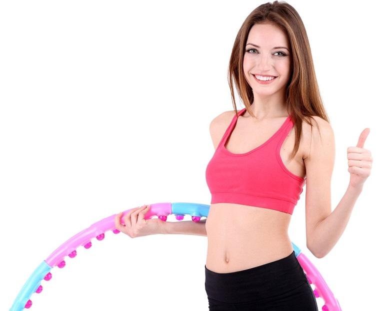Похудеть живот с обручем