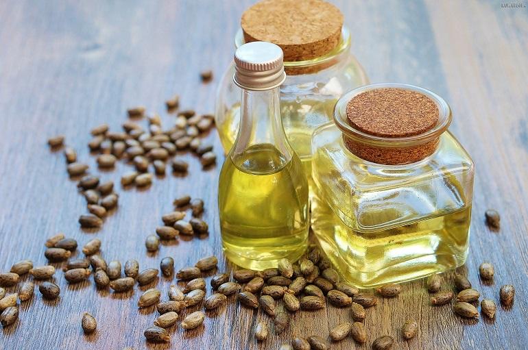 Касторовое масло для волос и ресниц