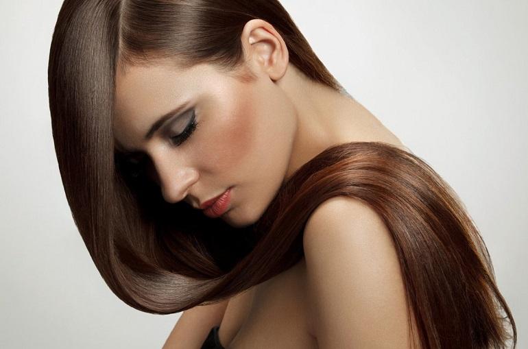 Как улучшить темный цвет волос?