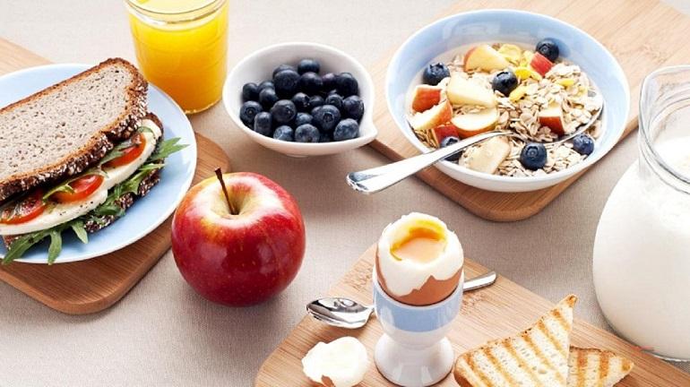 Варианты завтрака на диете