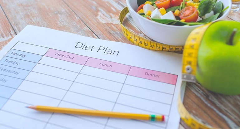 Подбор правильного питания для похудения