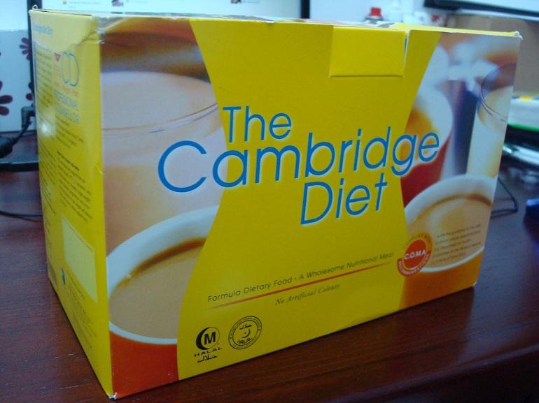 """Похудение с помощью продуктов серии - """"Кембриджское питание"""""""