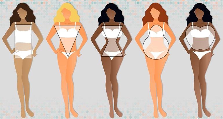 Типы женской фигуры - немного о диетах