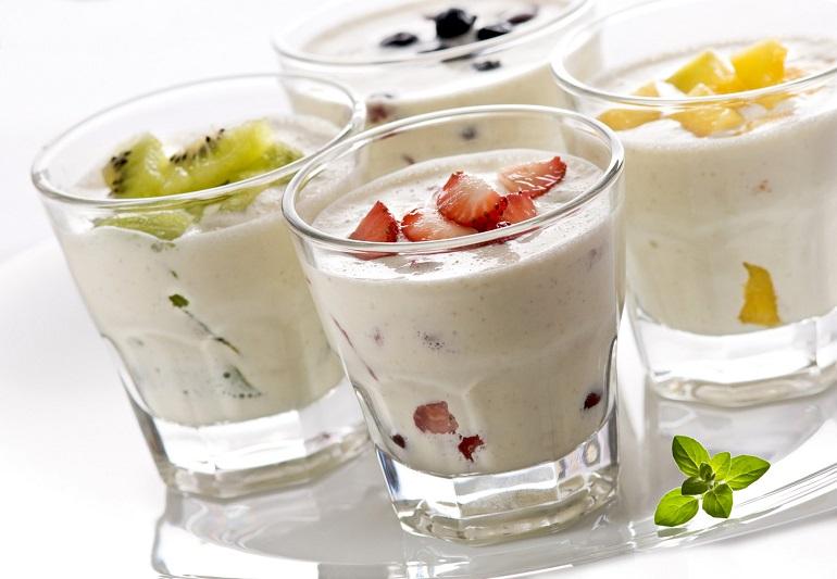 Натуральный йогурт на закваске