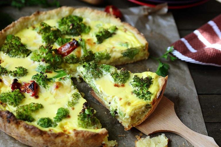 Питательное и полезное блюдо: омлет из брокколи