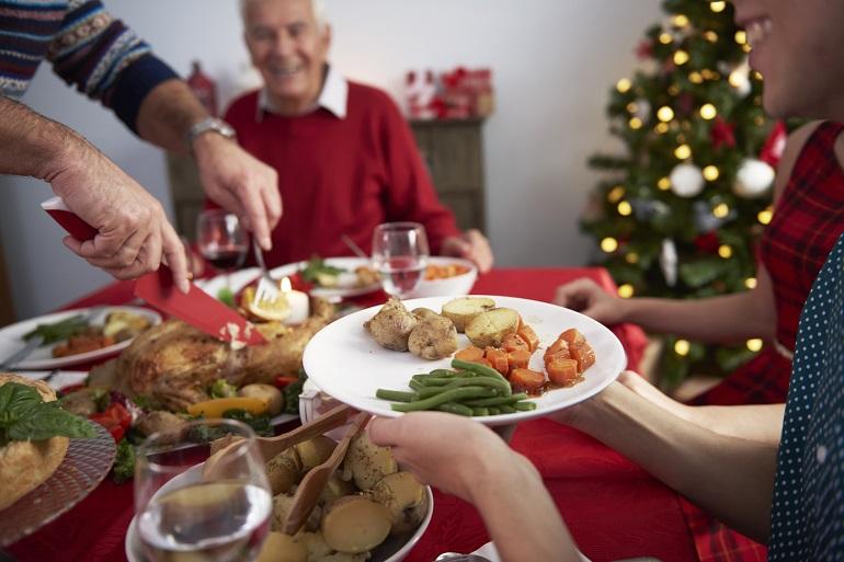 Соблюдение правильного питательного рациона в период праздников