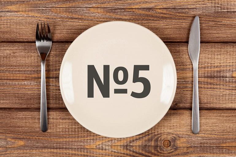 Худеем с помощью диеты № 5