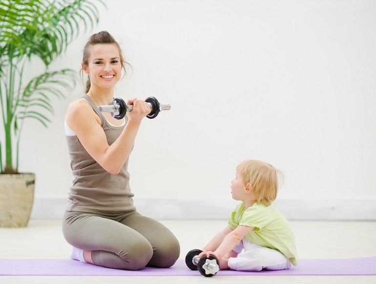 Как привести себя в порядок после рождения ребенка