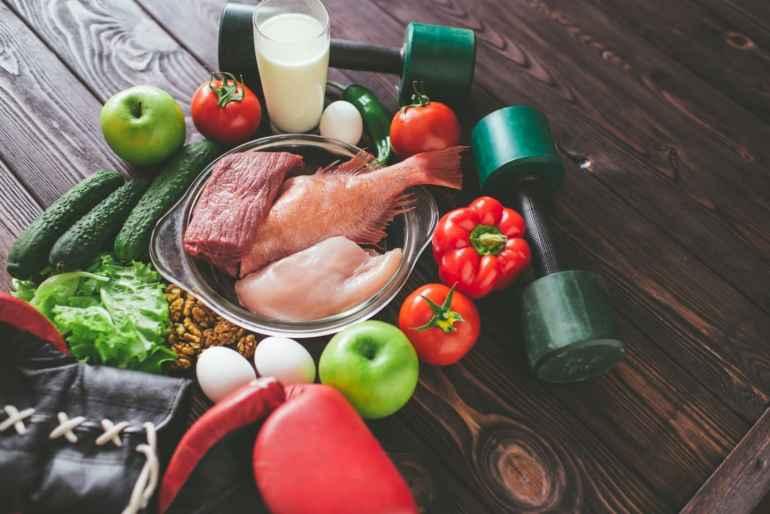план питания для похудения является