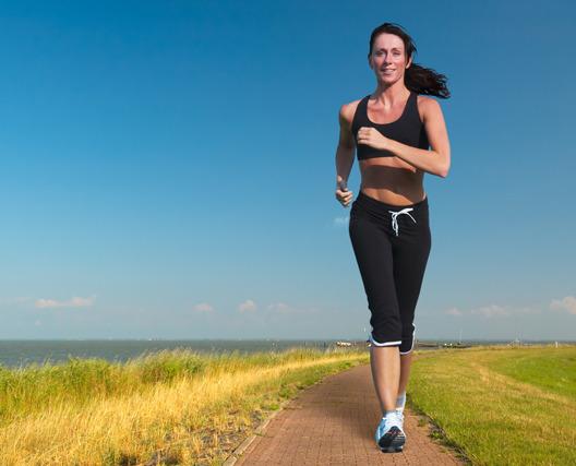 Похудение с помощью быстрой ходьбы