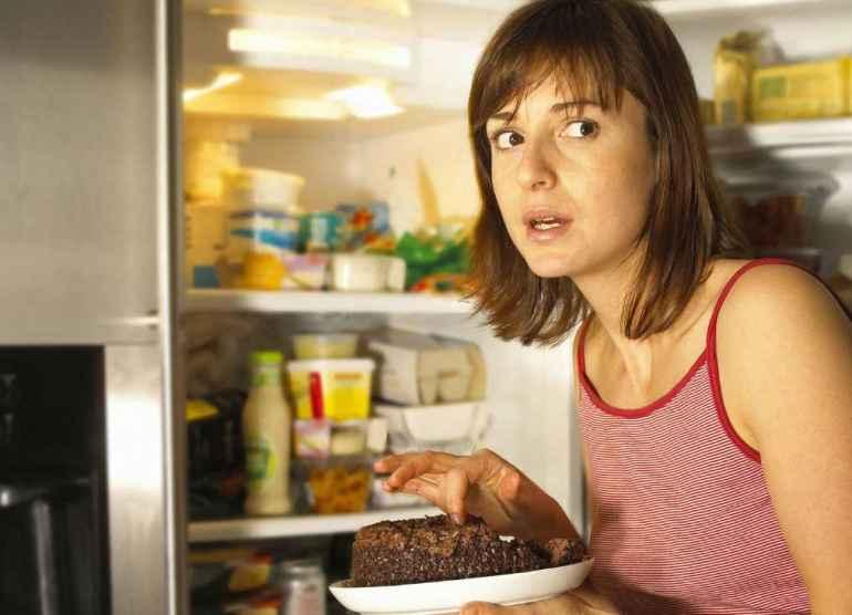 Как перестать навещать холодильник после ужина