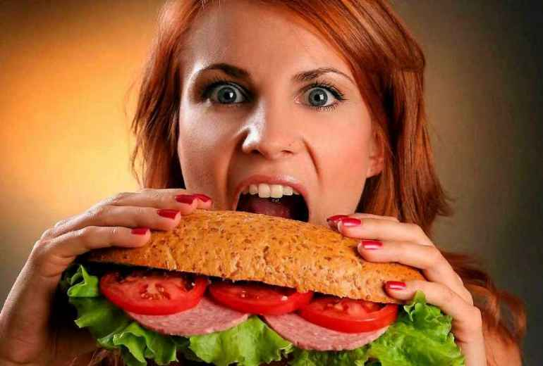 Что делать, если переела во время диеты?