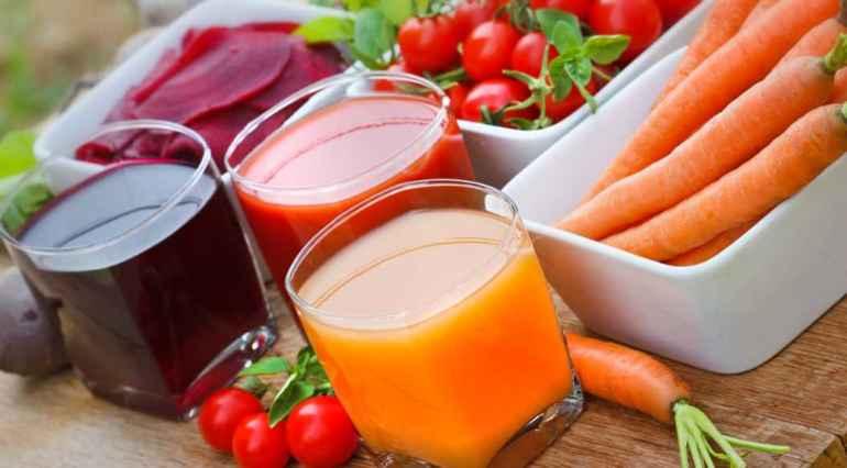 Почему овощные соки намного полезнее фруктовых