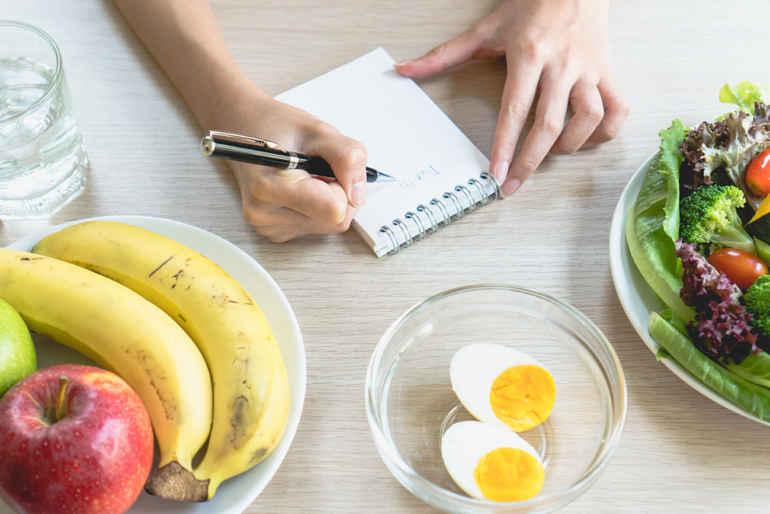 Похудела считала калории