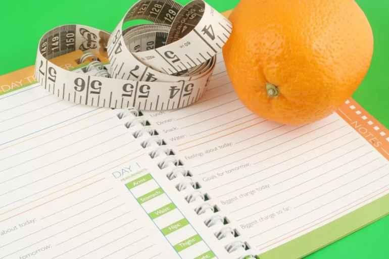 Как избавиться от лишних 5 кг в год с помощью пищевого дневника