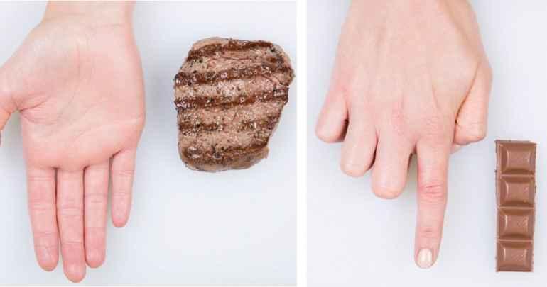Как научиться на глаз отмерять порцию еды, безопасную для фигуры