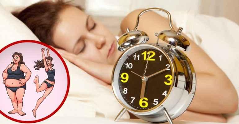 Как правильный сон поможет сбросить небольшой избыток веса