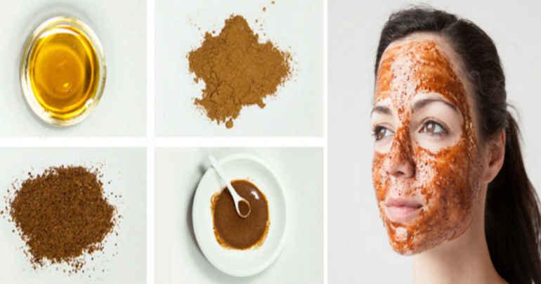 Домашний крем на ночь с корицей и медом для цветущей кожи лица