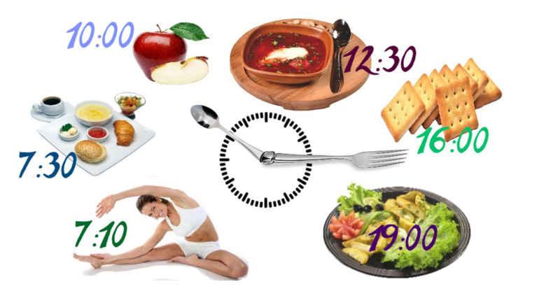 Диета по часам: как режим питания ускоряет похудение