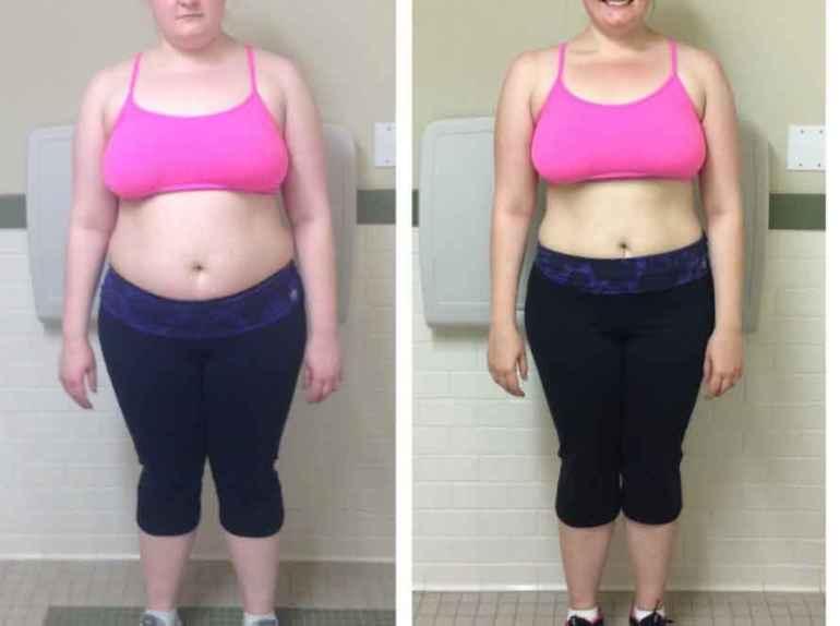 Сколько лишних килограммов можно сбросить за год на правильном питании