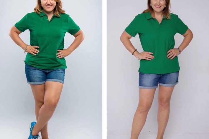 Сколько нужно времени, чтобы похудеть на один размер