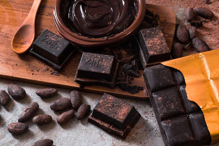 Как есть горький шоколад с пользой для фигуры