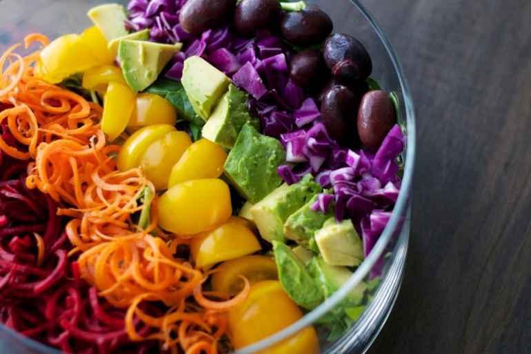 Цветная диета для похудения: как она работает?