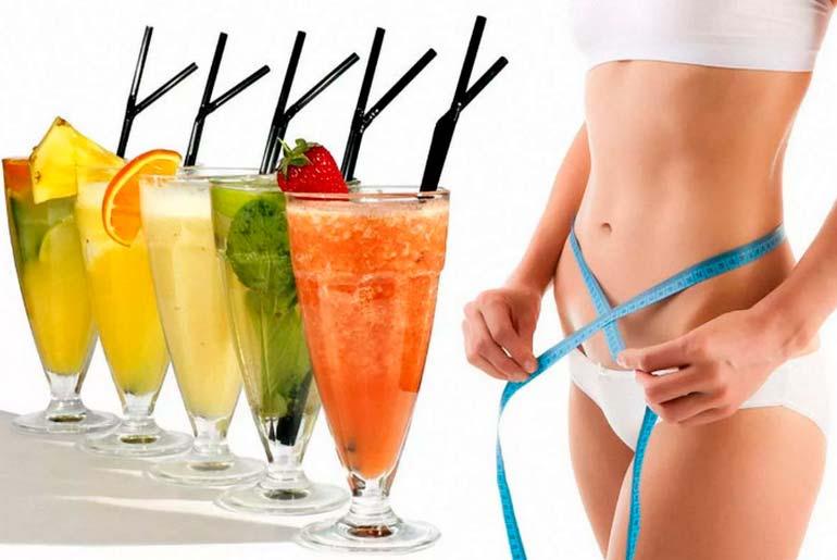 Готовим напитки для похудения в домашних условиях